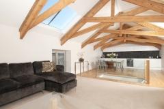 Living Room at Hernaford Barns